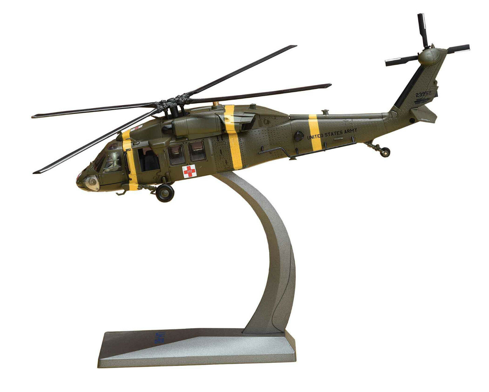 AF1-0099B 1 72 UH-60 schwarz HAWK 377TH MEDICAL COMPANY SOUTH KOREA 2017 W STAND