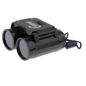 Black Lightweight 26mm Telescope Binoculars Science Toy 2.5X Magnification
