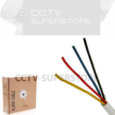 Security Wire Burglar Alarm 18/4 500FT Stranded Unshielded Control Speaker Cable