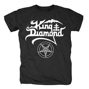 KING-DIAMOND-White-Logo-Black-T-Shirt