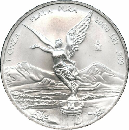 Lot # 1149-2 2000 Mexico 1 ONZA Gem B.U