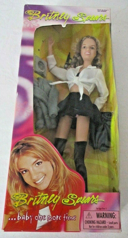 Britney Spears Oops.. I DID IT AGAIN DOLL schwarz MINI SKIRT DOLL
