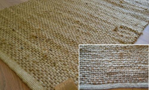 100/% Naturel Jute Tapis Runner Handmade plate Nouées Tapis Eco Friendly 180x60cm