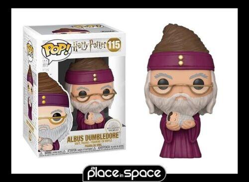 VINYL FIGURE #115 ALBUS DUMBLEDORE W// BABY HARRY FUNKO POP HARRY POTTER