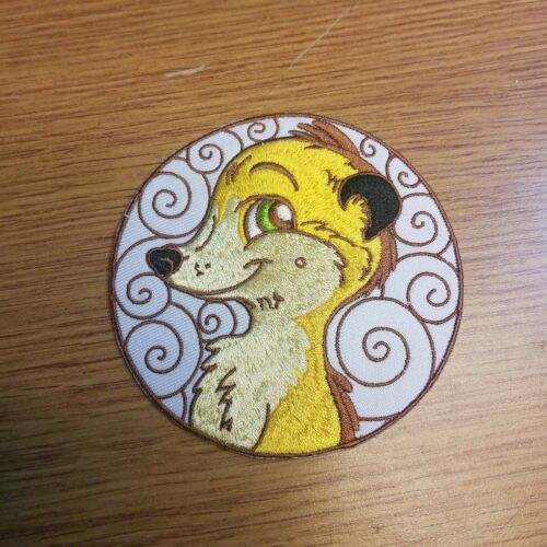 The Lion King Timon Circle Patch 4 inches wide