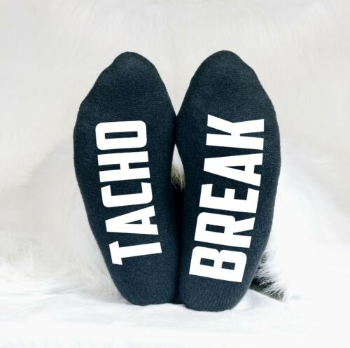 Tacho Break Funny Men/'s Socks Dad Uncle Grandad Father/'s Day Trucker HGV Lorry