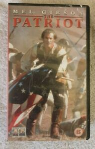 THE-PATRIOT-Mel-Gibson-VHS-2000-2001