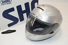 SHOEI X-Twelve MEDIUM Light Silver Helmet M X-12 Metallic IF0902 - Barely Used