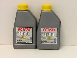 16-80-l-Kayaba-fork-oil-5W-2-x-1-Ltr-KYB-01M-racing-suspension-oil
