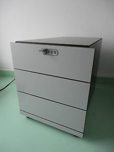Design Rollcontainer bulo design rollcontainer 3 auszüge ebay