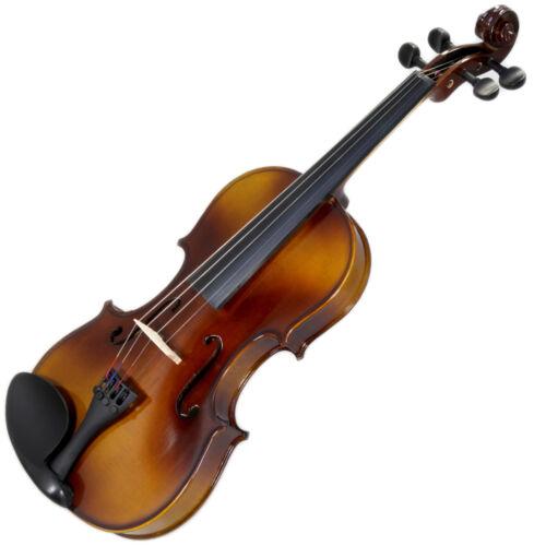 blk 2 Brazilwood Bows /& Rosin New 3//4 Solid Wood Violin w Case