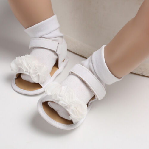 So Lovely Baby Girl Floral Pram Shoes Infant Child Summer Sandals 0-18 Months