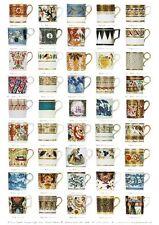 Giftwrap / Poster Print - English Georgian Coffee Cans - 700 x 500mm