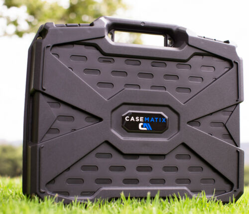 Microphone Case Fits Up to 12 Wireless Mics by Shure Akg Sennheiser and More
