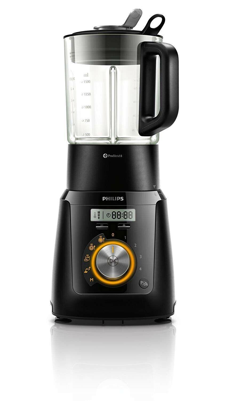 Robot de Cocina Philips HR2099 -40 programas, 1100 W, 2 litros, 4...