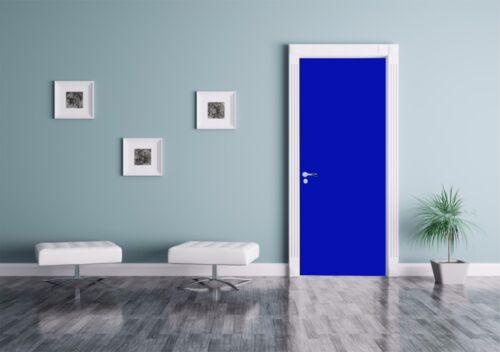 Klebefolie Türfolie 3,00€//m² Dark Blue Glänzend in 100cm breite