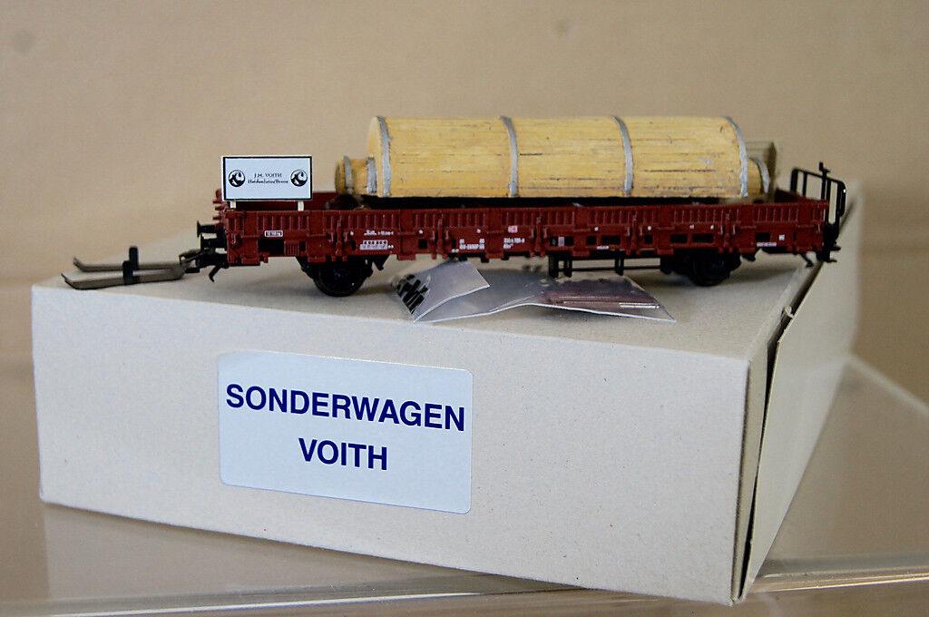 Marklin Märklin 46941 Sonderwagen DB Voith Piatto Auto con Carico come Nuovo Nc