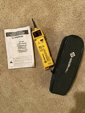 Greenlee Lt 100 Lamp Tester With Manual Amp Case
