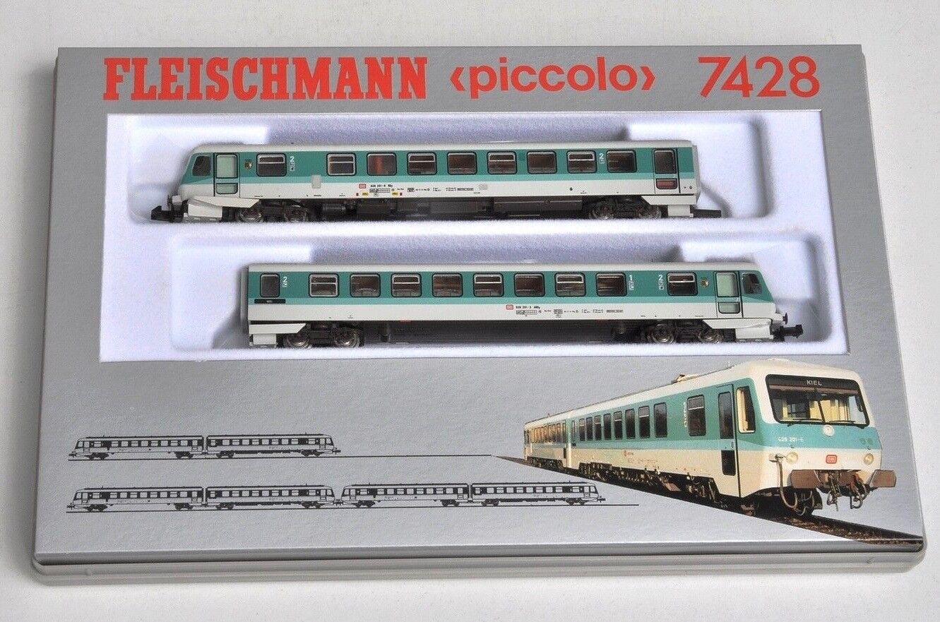 Fleischmann Fleischmann Fleischmann 7428 N - DB V BR 628.2 Dieseltriebzug in OVP  NEU  2e693b