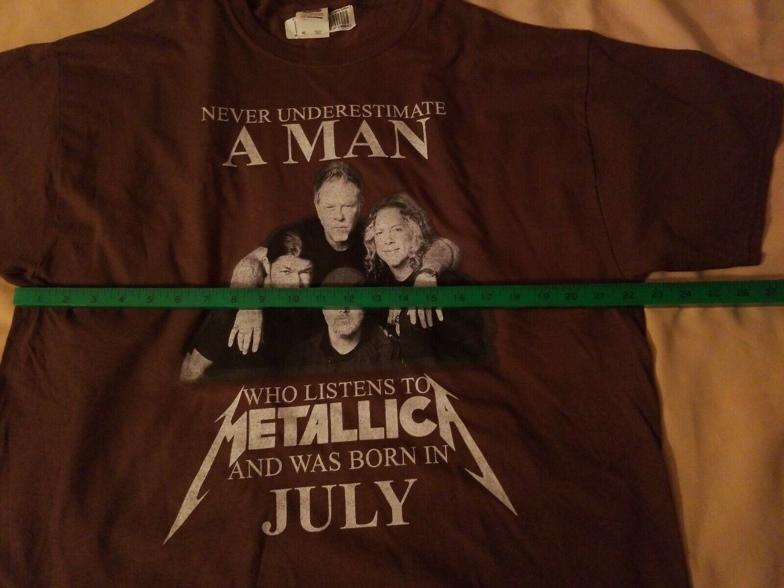 Never Underestimate MAN Who Listens to Metallica … - image 7