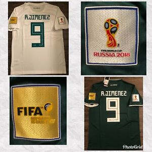 21f4dc07bc05 Image is loading FIFA-WORLD-CUP-2018-RAUL-JIMENEZ-MEXICO-AWAY-