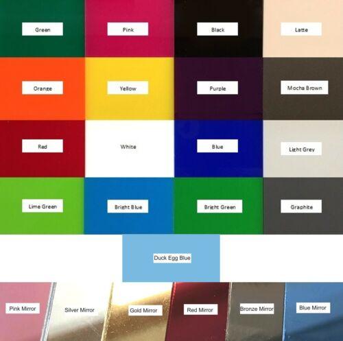 muchos colores Acrílico Conjunto de 10 Pirata Cutlass en forma de elaboración de espejos