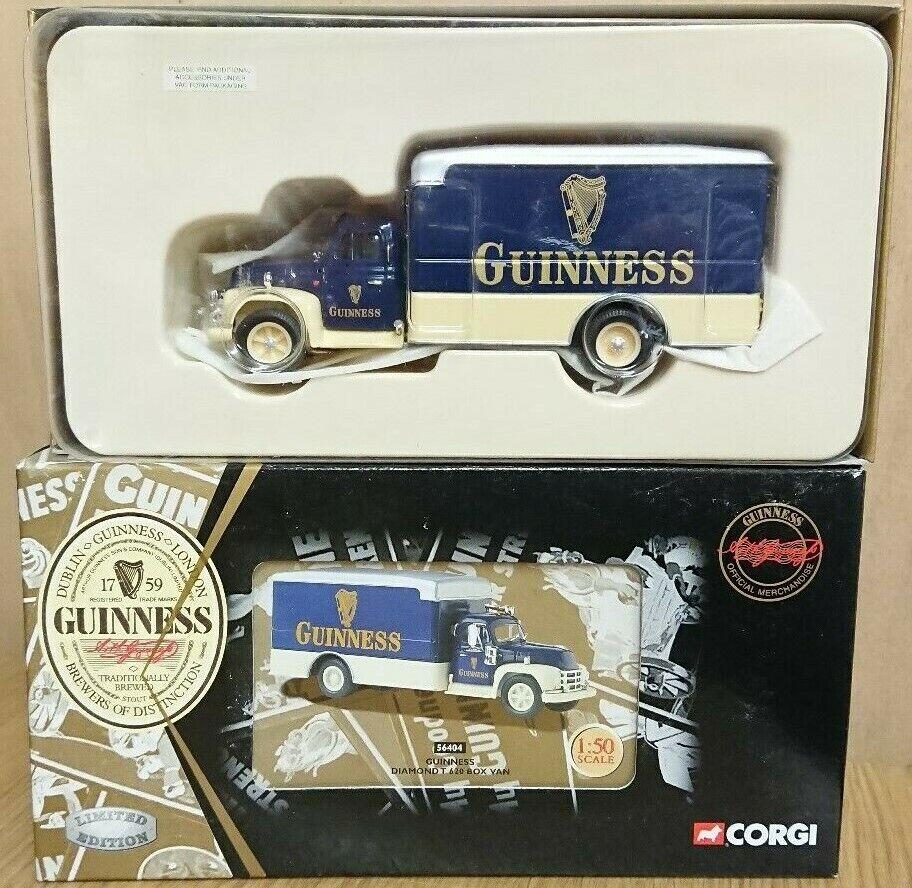envío rápido en todo el mundo Corgi 56404 Guinness Diamante T 620 Caja Caja Caja van Ltd Edición No. 0004 de 4000  tiempo libre