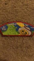 Boy Scouts Jersey 2010 Ogre Council 0 Iron On Patch 2x5 Inch Nice