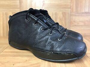 timeless design 45f62 b2fb4 Image is loading RARE-Nike-Air-Jordan-18-5-Original-Black-