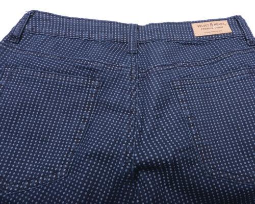 Denim Nouveau Heart Taille 25 Velvet Women's Jeans Premium Nwt Pqnaw7