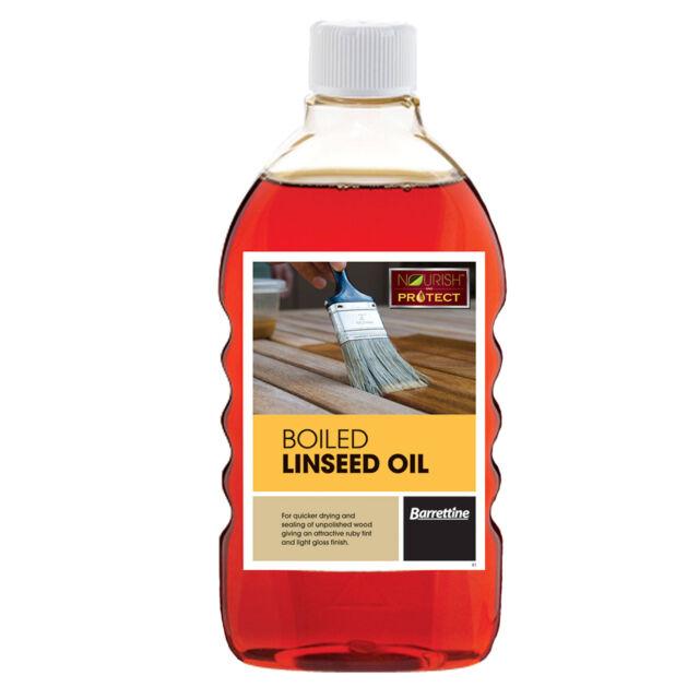 Barrettine Boiled Linseed Oil - 250ml, 500ml, 2L & 5L