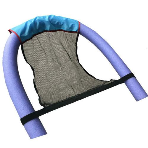 Floating Pool Noodle Sling Mesh Chair Net for Swimming Seat Water Relaxation