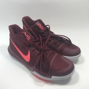 f81aa56cb6f8 Nike kyrie 3 team red crimson red Mens Size 11-12 Basketball shoes ...