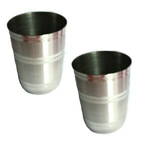 heavy duty stainless steel tumblers glasses drinking cup mug camping garden bbq ebay. Black Bedroom Furniture Sets. Home Design Ideas