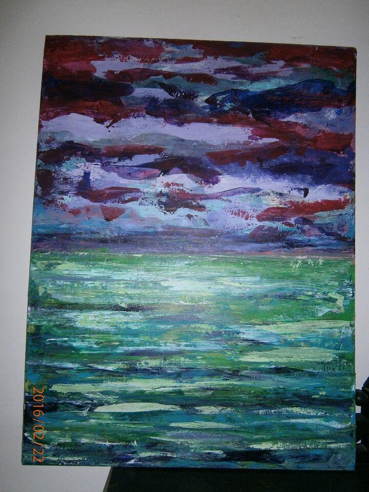 Maleri, Kristina Borregaard Hall