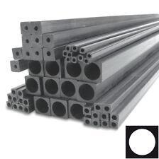 (5) Square Carbon Fiber Tube Round inside 1.4mm x 1.4mm x 0.8 mm x 1000mm