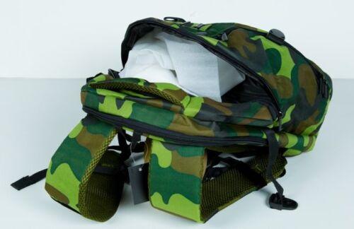 Nikon Photography Waterproof Military Tactical Backpack Camping Travel Bag Green