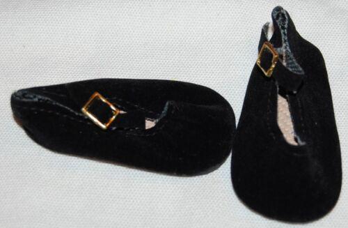"""18/"""" 69mm Black Velvet Buckle for SD* BJDs DOLL Shoes Magic Attic"""