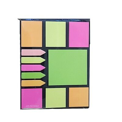 Stick Markers Book Page Index Flag Sticky Notes Office School Supplies HGUK
