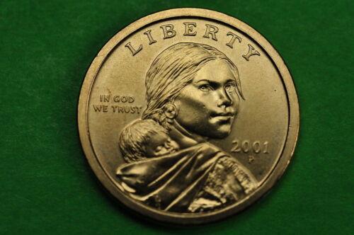 2001-P BU Mint State US One  Dollar Coin Sacagawea