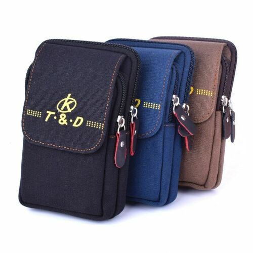 Mobile Pouch Waist Pack Travel Belt Wallets Casual Coins Purse Fanny Phone Bag