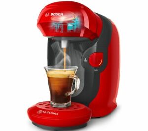 TASSIMO by Bosch Style TAS1103GB Pod Coffee Machine - Red - Currys