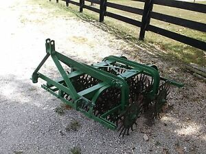 Used-3-1-2-FT-Spike-Aerator-FREE-1000-MI-TRUCK-SHIPPING-DETAILS-IN-DESCRIPTION