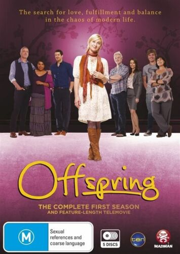 1 of 1 - Offspring : Series 1 (DVD, 2012, 5-Disc Set)  New, ExRetail Stock, Genuine D76