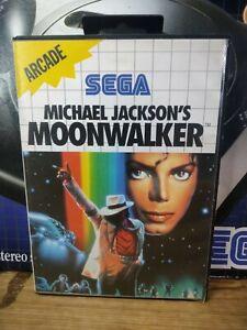 Michael Jackson's Moonwalker Sega Master System Boxed PAL