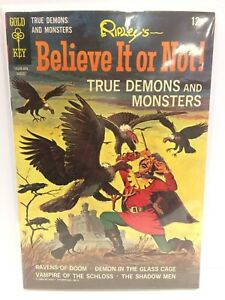 Ripley-039-s-Believe-it-or-Not-True-Demons-and-Monsters-10-Comic-Book-Gold-Key