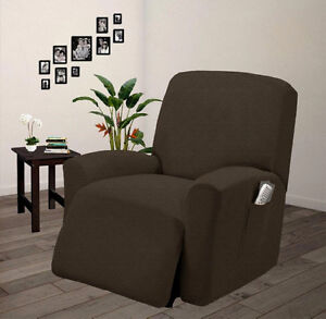 Gentil Image Is Loading Pique Stretch Form Fit Furniture Chair Recliner Lazy