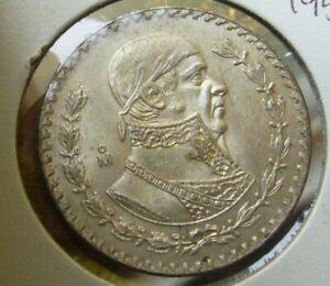 1958 to 1966 MEXICO 1 UN PESO JOSE MORELOS SILVER COIN  Ur choice of 1