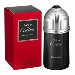 54258df3f7d Pasha De Cartier Edition Noire 3.3   3.4 Oz EDT Spray NIB Sealed ...