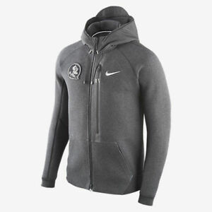 Hoodie Fleece Flash Zip Grey Jacket Tech talla Quest Nike Diamond Fsu Elige xwqFT8a